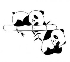 panda two tone hair color ideas - Hair Color Ideas Panda Wallpapers, Cute Wallpapers, Panda Sketch, Cute Panda Drawing, Cute Panda Wallpaper, Panda Painting, Wall Painting Decor, Panda Art, Panda Panda