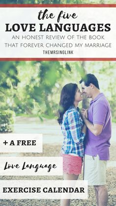 An Honest Review Of The Five Love Languages | FREE Exercise Calendar Printable | The Book That Forever Changed My Marriage |  #relationshipgoals | Book Reviews by theMRSingLink | Relationship Books | Marriage Books
