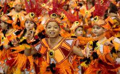 09 FEV 2013, São Paulo, BR - Ala das crianças da Gaviões da Fiel, que teve como enredo a história da propaganda.