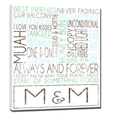 Does your best friend have a birthday coming up? Let me make him or her a personalized piece of art that they will cherish forever. #gift #holiday