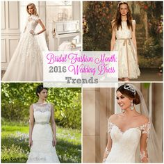 On-Site Wedding Receptions | Bridal Fashion Month: Ten Wedding Dress Trends for 2016