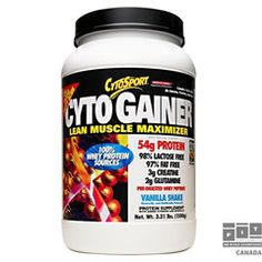 Cytogainer-Vanilla Shake - Cytosport - lb - Powder -- Find out more about the great product at the image link. Pre Workout Nutrition, Sports Nutrition, Fitness Nutrition, Diet And Nutrition, 100 Whey Protein, Best Protein, Protein Shakes, Top Protein Powders, Best Prenatal Vitamins