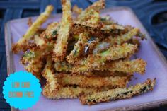 Low Carb Zuchinni Fries | CDIABETES.COM