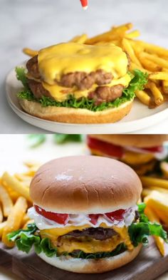 The Ultimate Homemade Burger recipe! Simple + the BEST beef burger recipe! Grilled Burger Recipes, Best Burger Recipe, Pub Burgers Recipe, American Cheese Burger Recipe, Grilled Hamburgers, Gourmet Burgers, Homemade Cheeseburgers, Homemade Burgers, Gastronomia