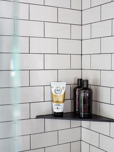 A bland and boring master bathroom is reborn as a bold, beautiful, black and white retreat. See it on HGTV.com.