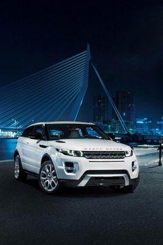 Range Rover Evoque, an absolute beauty of a car! My dream car