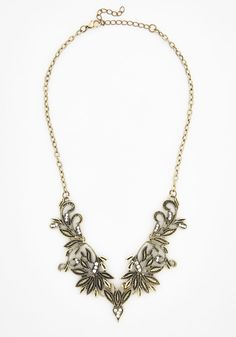Friend of a Frond Necklace, #ModCloth
