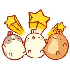 Cute Molang #japanese #kawaii