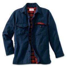 Lined Jac-Shirt