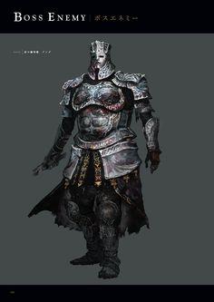 Dark Souls 3 Concept Art - Champion Gundyr Concept Art