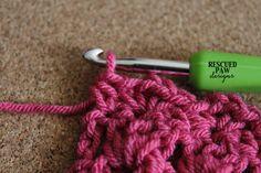 Crochet Primrose Stitch Tutorial by Rescued Paw Designs