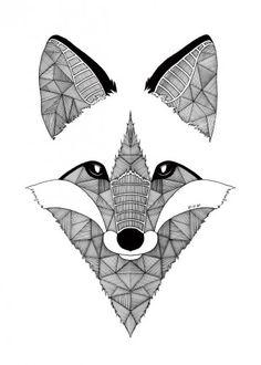 60 meilleures images du tableau dessin renard en 2018 fox drawing foxes et draw animals - Coloriage renard ...