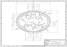 Pin on Logos - autocad practice drawings pdf Autocad Isometric Drawing, Autocad 3d, Logo Do Batman, Batman Drawing, Design Art, Logo Design, Interesting Drawings, Geometric Drawing, Drawing Exercises