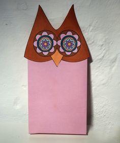 DIY Free Printable Owl Bag Topper