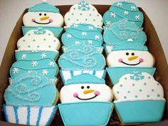 Flour Box Bakery — Winter Cupcake Cookies