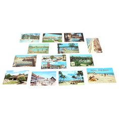 Swimming Scene Post Cards, $105, now featured on Fab.