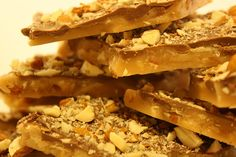 Almond Buttercrunch Toffee by paramour confections on etsy