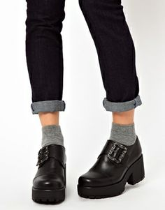 Vagabond Dioon Buckled Platform Shoes