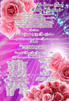 Invitación Lila para 15 Años #sweet15 #quinceanera #DaVinci