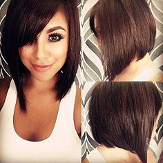 LUFFY Wig 130% Density 10A Brazilian Virgin Human Hair Full Lace Wig Silky Straight Short Bob Human Hair Wigs with Side Bangs Natural Color For Women(8inch) Luffy http://www.amazon.com/dp/B01DY1R93W/ref=cm_sw_r_pi_dp_WqCdxb1P38CYZ