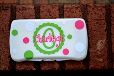 Baby Wipe Travel Case - Personalized. $8.00, via Etsy.