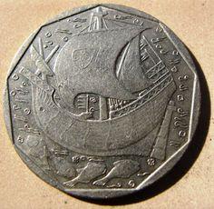 500$00 na Moeda Portuguesa - Escudos #moedas #coin #Portugal