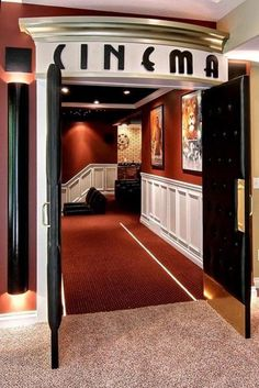 Home Theater Door Ht3007