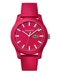 cool Buy Lacoste Pink Silicon Strap Watch for £79.00 just added...  Check it out at: https://buyswisswatch.co.uk/product/buy-lacoste-pink-silicon-strap-watch-for-79-00/