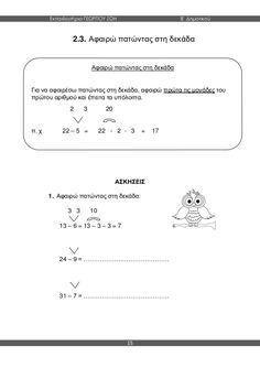μαθηματικά β΄ δημοτικού α΄τεύχος Fails, Math Equations, Map, School, Location Map, Make Mistakes, Maps, Thread Spools