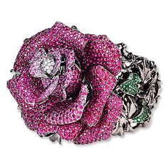 Wendy Yue Rose Cuff