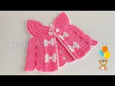 Baby Knitting, Baby Dress, Lana, Rompers, Summer Dresses, Dolls, Model, Clothes, Bb