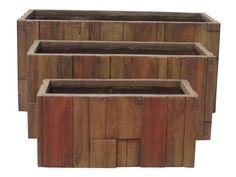 Květináč G21 Wood Box 99x46x46cm - Zahrada > Zahradní doplňky > Truhlíky, květináče