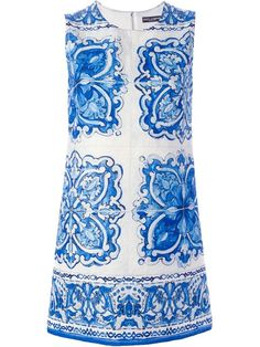 Shop Dolce & Gabbana 'Majolica' print shift dress in Birba's from the world's best independent boutiques at farfetch.com. Shop 300 boutiques at one address.