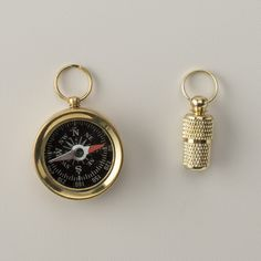 Brass ID Tube (put important identification info inside or Compass $15