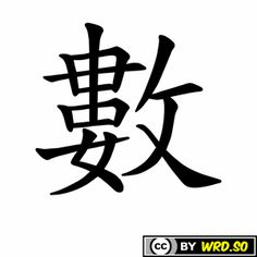 """How to write """"TO COUNT"""" in #Chinese ? #language #tutorial #education #wrdso"""