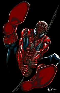 Find images and videos about red, Marvel and comics on We Heart It - the app to get lost in what you love. Comics Anime, Bd Comics, Marvel Comics Art, Marvel Heroes, Marvel Avengers, Comic Book Characters, Comic Book Heroes, Marvel Characters, All Spiderman