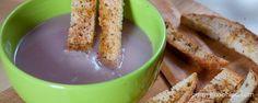 Zupa krem z fioletowego kalafiora