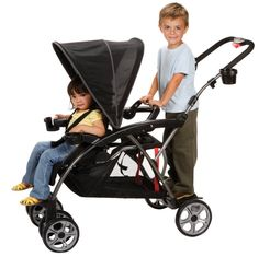 Safety 1st Stand OnBoard Double Baby Stroller - Classic Black / CV249BKJ CV249BKJ,    #Safety 1st Double
