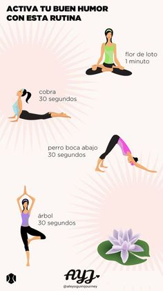 Yoga routine to activate your good mood. - Yoga is an activity that you can practice anywhere and will put you in touch with your own being. Yoga Kundalini, Yoga Meditation, Pranayama, Yoga Hatha, Iyengar Yoga, Meditation Space, Yoga Routine, Hata Yoga, Fitness Del Yoga