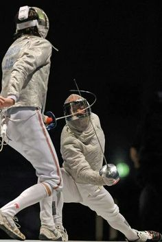 Sabre!! i think that whenever somebody asks me what modern sabre fencing is like ill show them this.