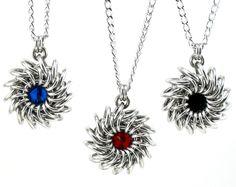 Ronda collar de cota de malla Metal por CelestialBlacksmith