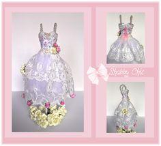 Mini vestido Shabby Chic