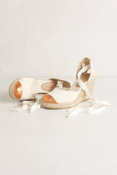 Anthropologie espadrille wedges~