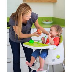 Have to have it. Keter Multi Dine Child High Chair - $85.73 @hayneedle