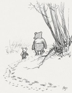 a walk in the Hundred Acre Woods