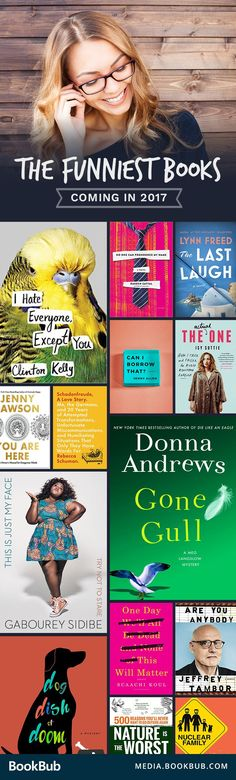 Funny books to read this year if you're looking for a laugh.