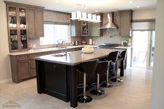 Kitchen Island, Kitchens, Table, Furniture, Home Decor, Island Kitchen, Kitchen, Interior Design, Cuisine