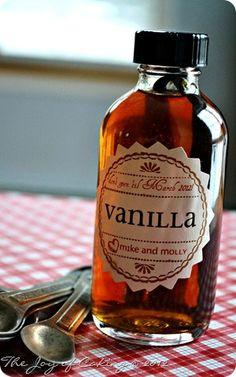 Homemade Vanilla Extract | Atkinson Drive... Christmas gifts?