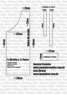 LA COSTURERA NOVATA: HAZ TU PROPIO DELANTAL Clothing Patterns, Sewing Patterns, Crochet Waffle Stitch, Sewing Crafts, Sewing Projects, Barber Apron, Gift Baskets For Women, Leather Apron, Apron Designs