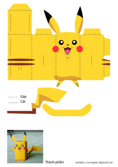 a product to make a picachu for you